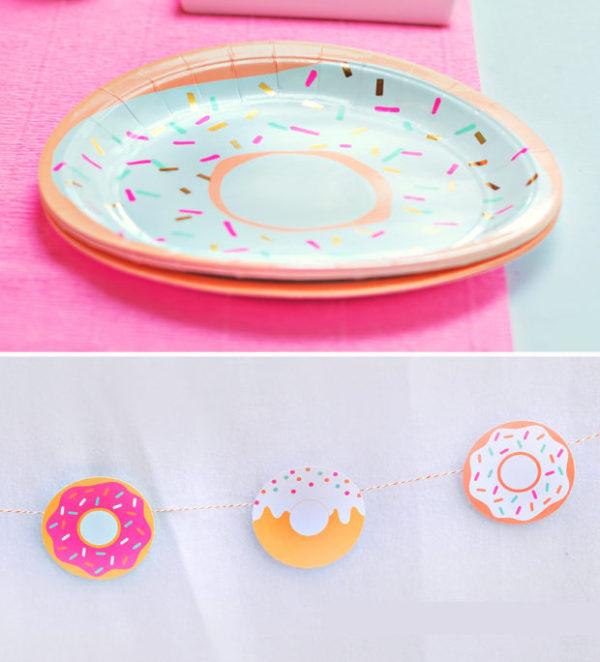 donut-plates-garland-620x684