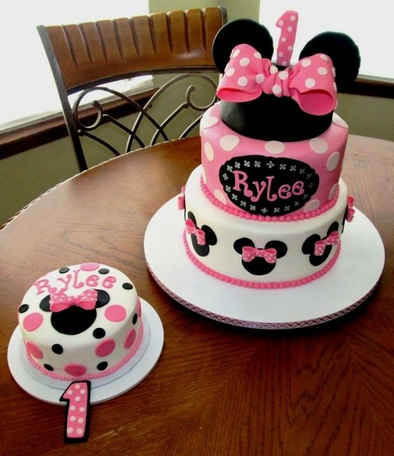 45 Cute Minnie Mouse Birthday Cakes Party Ideas PH