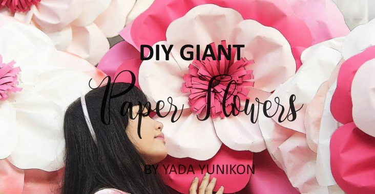 Diy Giant Paper Flowers Party Ideas Ph