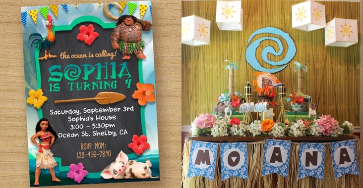 Moana Birthday Party Inspiration Board Party Ideas PH