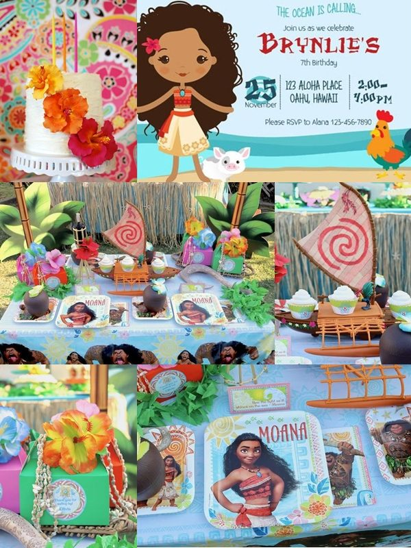 PS Find More Moana Party Ideas Here