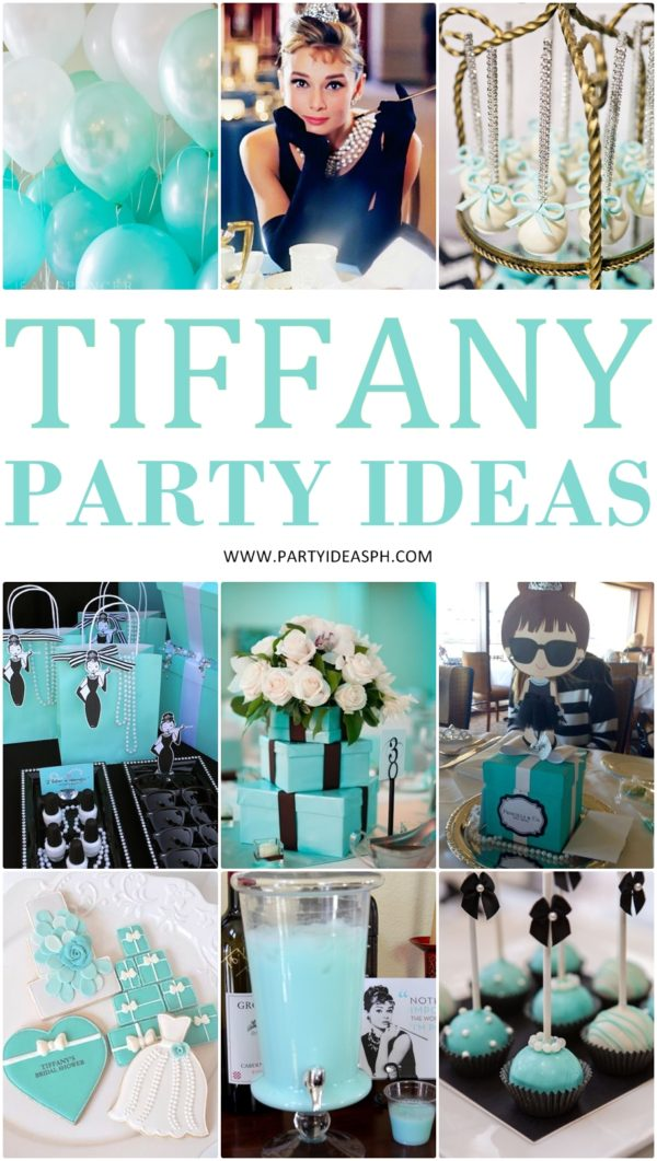 dfec358b48 Find more Breakfast at Tiffany's Party Ideas Here! Mannequin Jewelry  Holder: Pretty My Party ...